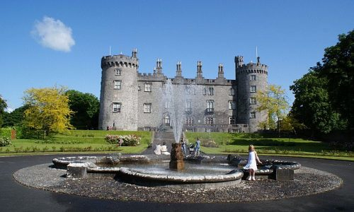 Kilkenny-castle-rose-garden